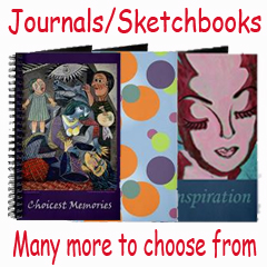 Journal and Sketch Pads